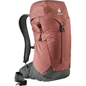 deuter AC Lite 24 Backpack, rojo/gris